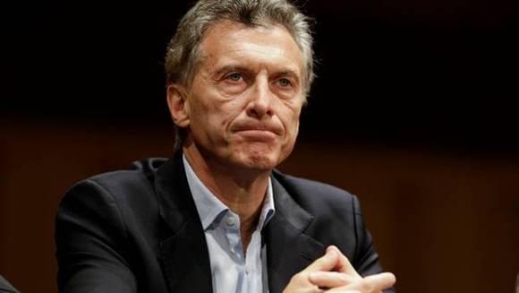 Mauricio Macri, presidente de Argentina. Foto: AP.