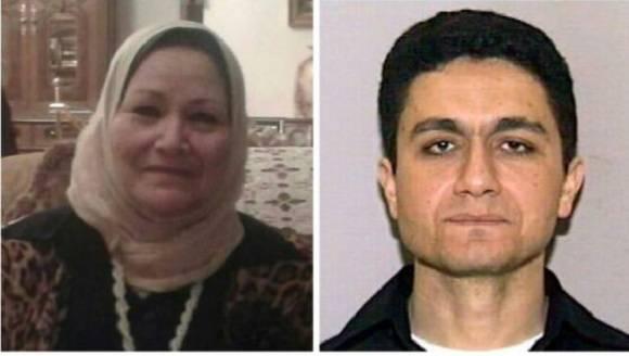 Bozaina Mohamed Mustafa Sheraqi (izq.) y Mohamed Atta (dcha.). Foto: Álbum familiar.