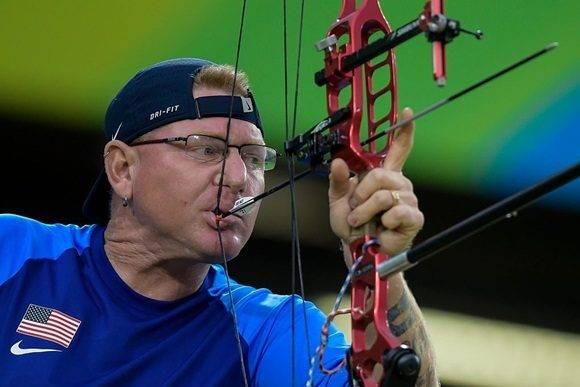 Atleta paralímpico de EEUU. Bruna Prado/Getty Images .