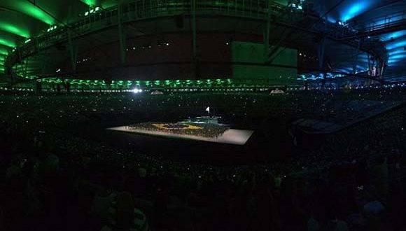 La ceremonia de apertura ha estado cargada de emoción. Foto: Mundo Deportivo.