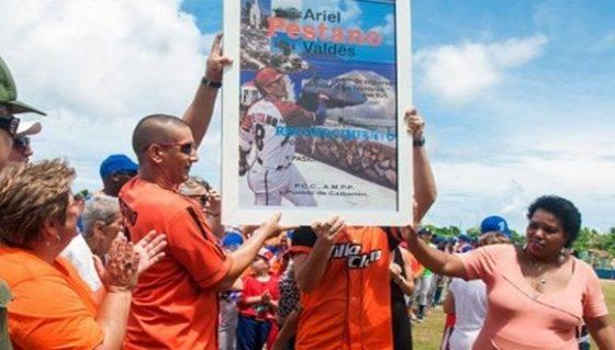 Ante su pueblo, Ariel Pestano dice adiós al Béisbol activo