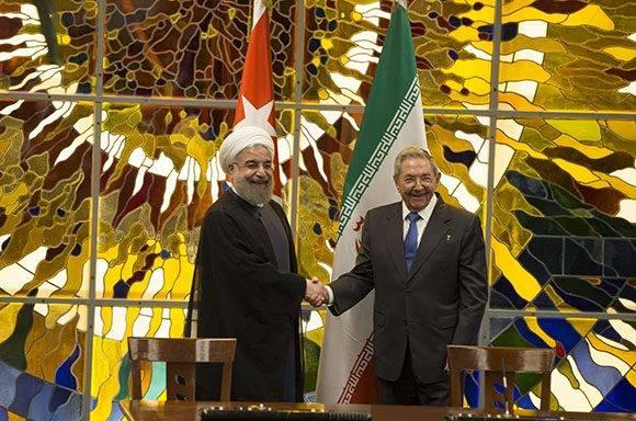 Recibe Raúl Castro al Presidente de la República Islámica de Irán (+ Fotos)