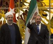 Encuentro entre Raúl y Hassan Rouhani, Presidente de la República Islámica de Irán. Foto: Ismael Francisco/ Cubadebate