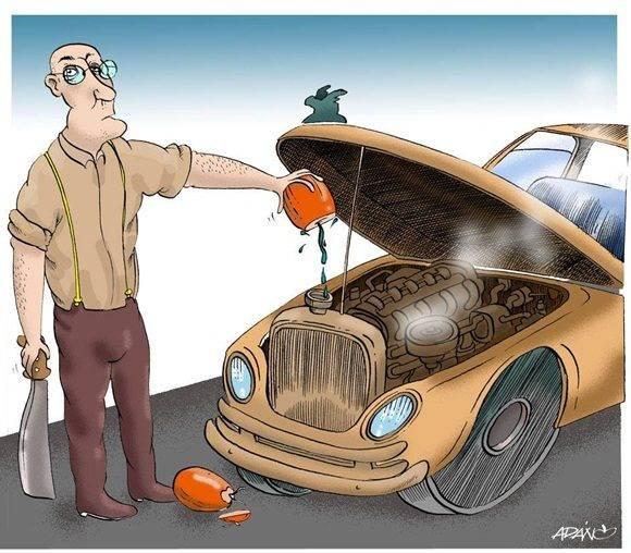 Caricatura: Adán Iglesias.