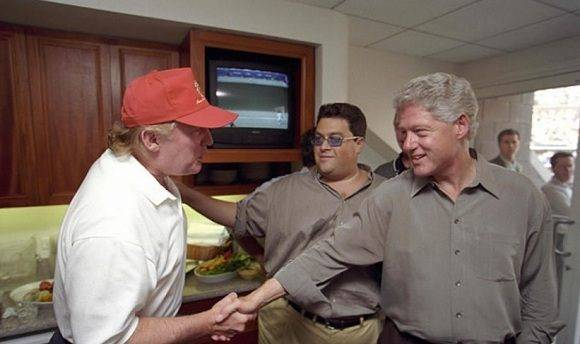 trump bill clinton 2