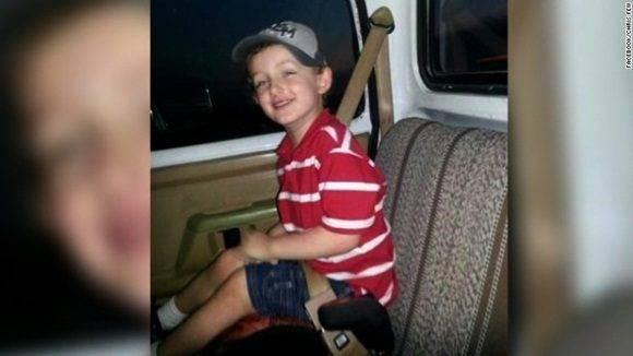 Jeremy Mardis, de primer grado, murió tras recibir cinco balazos en la cabeza y el pecho.