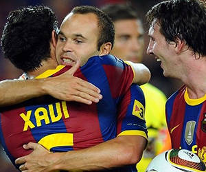 El retiro de Xavi quebró el trío de genios del pase que formó junto a Iniesta y Messi.