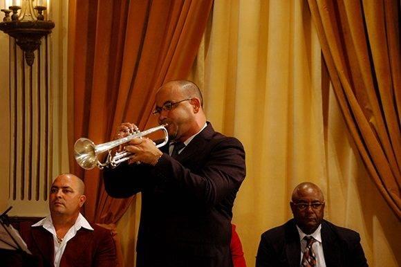 El quintento Atenas Brass Ensemble amenizó la velada. Foto: Cinthya García Casañas.