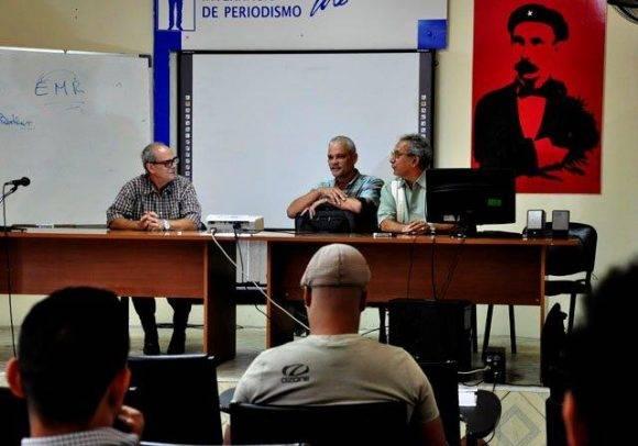 Presentación de un proyecto televisivo de fotografía por Canal Habana. Foto. Roberto Garaicoa Martínez/ Cubadebate