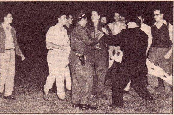 Amado Maestri defiende a Jose A. Echeverría y sus compañeros en el asalto al estadio del Cerro (1952)