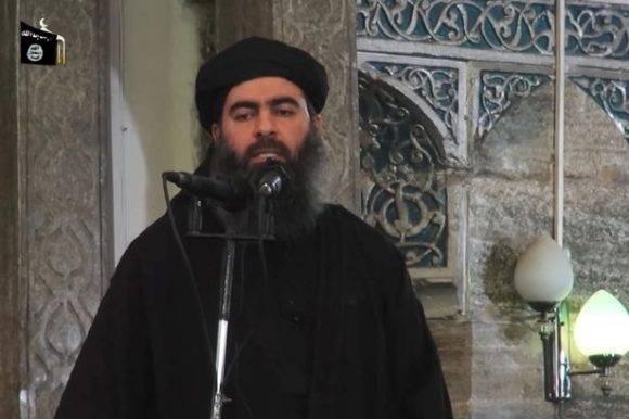 Abu Bakr al-Baghdadi, máximo líder del Estado Islámico. Foto tomadad e