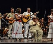 Acto político cultural por el Día de las Víctimas del Terrorismo de Estado, y en ocasión del Aniversario 40 del Crimen de Barbados, realizado en el Teatro Lázaro Peña, en La Habana,  el 6 de octubre de 2016.     ACN  FOTO/ Abel PADRÓN PADILLA/ rrcc