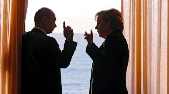 Angela y Putin