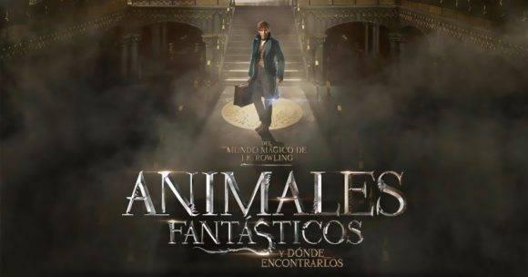 Cartel del filme Animales fantásticos y dónde encontrarlos. Foto tomada de YouTube.