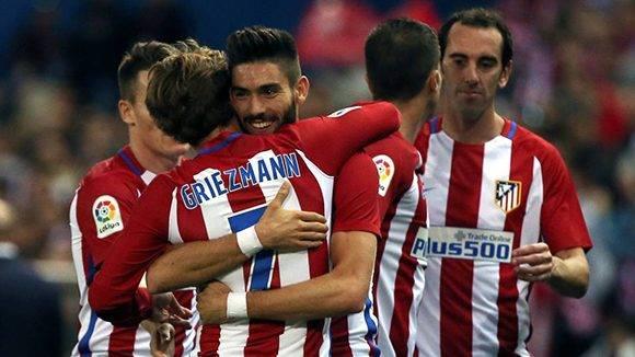 El Atlético continúa líder por diferencia de goles.