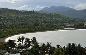 Bahia de mata en Baracoa.