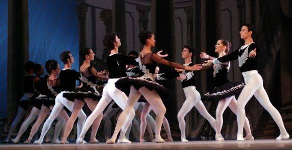 Ballet Nacional de Cuba. Foto tomada de Radio Cadena Agramonte.