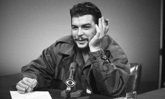 Che Guevara en Face the Nation. Foto: AP