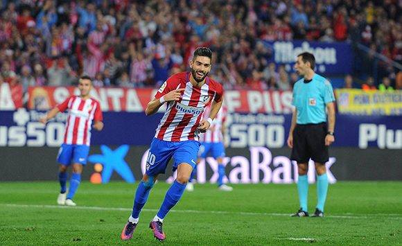 Carrasco anotó un hat-trick frente al Granada. Foto: D. Doyle/ Getty.