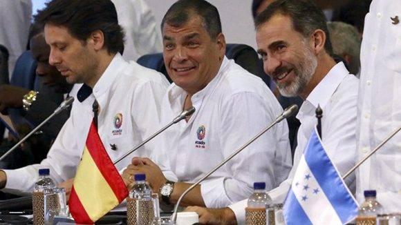 Correa-Cumbre iberoamericana