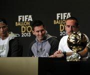"""En 2013 Ribèry fue el eligido según el método tradicional de """"France Football"""", pero el Balón de Oro lo ganó Cristiano Ronaldo. Foto tomada de Marca."""