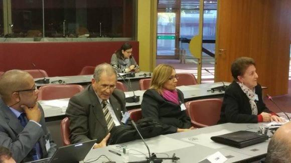 La delegación parlamentaria cubana. Foto: Misión cubana en Ginebra