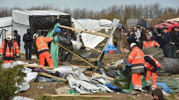Esta escena tuvo lugar en febrero pasado en el propio campamento. Foto: AFP.