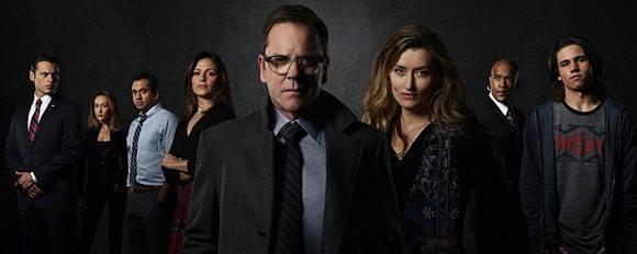 Kiefer Sutherland, el Jack Bauer de 24 horas regresa como protagonista de otra serie de caos político en EE.UU. Foto: ABC.