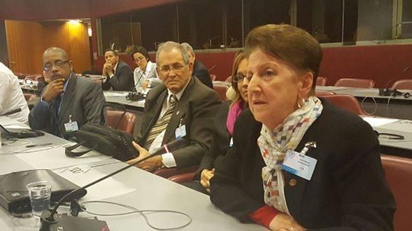 Representación de Cuba en la 135 Asamblea de la Unión Parlamentaria.