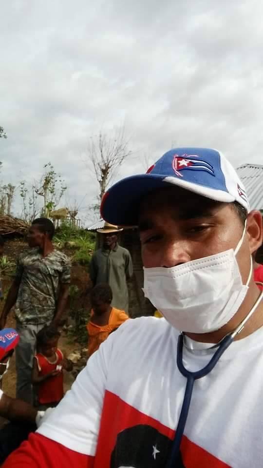 Dr Ivo Zúñiga. Foto tomada del perfil de Facebook de Enmanuel Vigil.
