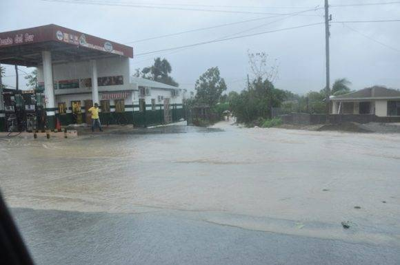 Efectos de las lluvias
