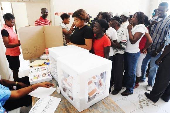 La devastación que dejó Matthew en Haití provocó una postergación de las elecciones. Foto: AFP.