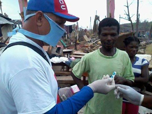 Enmanuel Vigil Fonseca en Haití
