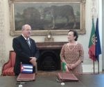 Firman acuerdo Cuba y Portugal en Lisboa.