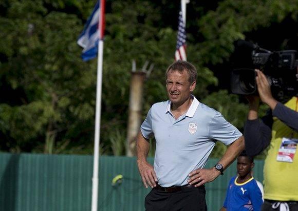Jurgen Klisman, DT de los Estados Unidos y es jugador de la selección alemana. Foto: Ismael Francisco/ Cubadebate.