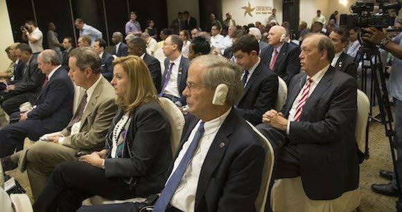 Foro empresarial entre empresarios cubanos y norteamericanos del estado de Louisiana. Foto: Ismael Francisco/ Cubadebate
