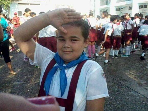 Hija mayor del Dr Zúñiga. Foto tomada del perfil en Facebook de Enmanuel Vigil.