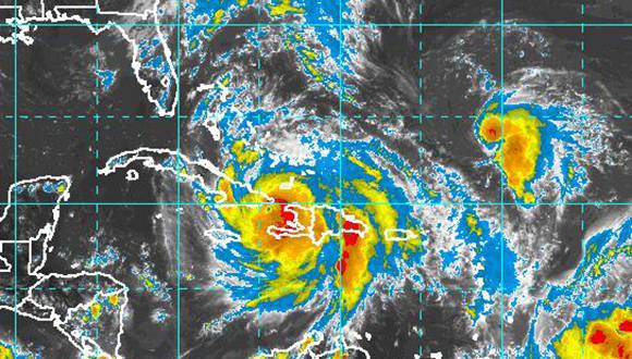 Huracán Matthew entra a Cuba