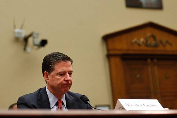 James B. Comey, director de la FBI. Foto: AP