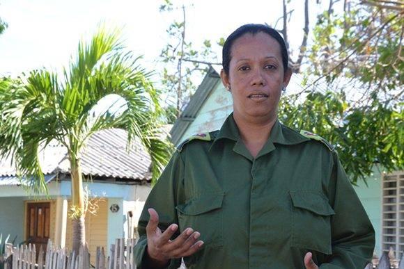 La higienización es una prioridad fundamental, asegura la presidenta del CDM. Foto. Lilibeth Alfonso Martínez.