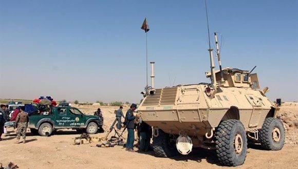 Luego que las fuerzas afganas asesinaran a un integrante de Daesh, los terroristas decidieron contragolpear. Foto: EFE.
