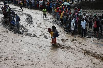 Mas de 20 mil desplazados en Haiti Foto EFE