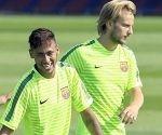Neymar y Rakitic