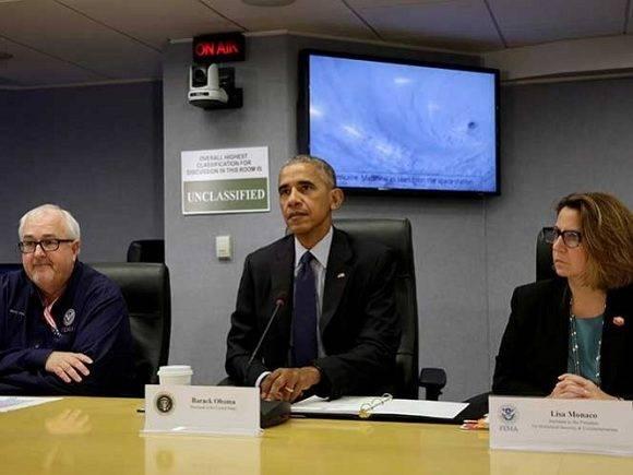 Obama firme estado de emergencia para La Florida. Foto: Agencias.