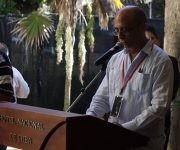 Omar Fernández, Secretario general de la Cámara de Comercio de Cuba durante la Fiesta del Vino de La Habana. Foto: Jennifer Veliz/ Cubadebate.