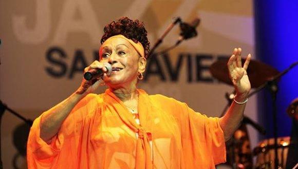 Omara Portuondo. Foto: Archivo.