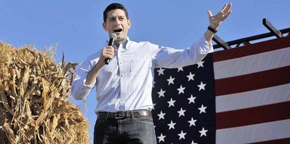 El líder del Partido Republicano, Paul Ryan, en varias ocasiones se ha mostrado públicamente en contra de Trump. Foto: AP.