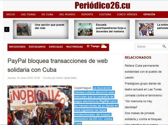 Pay Pal bloqueo dinamarca
