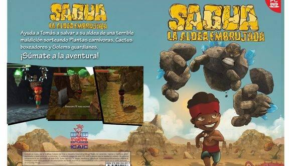 """Juego """"Sagua, la aldea embrujada"""", primero producido exclusivamente por el ICAIC."""