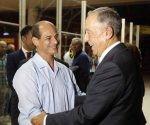 Presidente portugués llegó a Cuba
